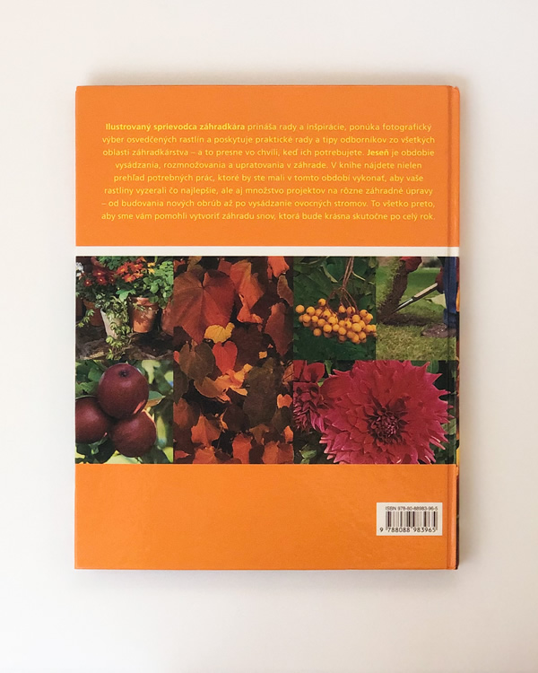 Ilustrovaný sprievodca záhradkára – Jeseň