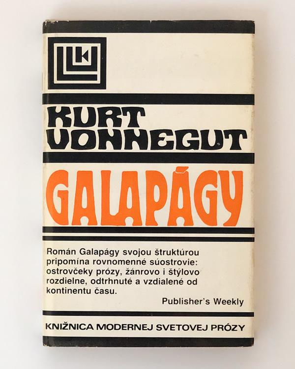 Galapágy Kurt Vonnegut