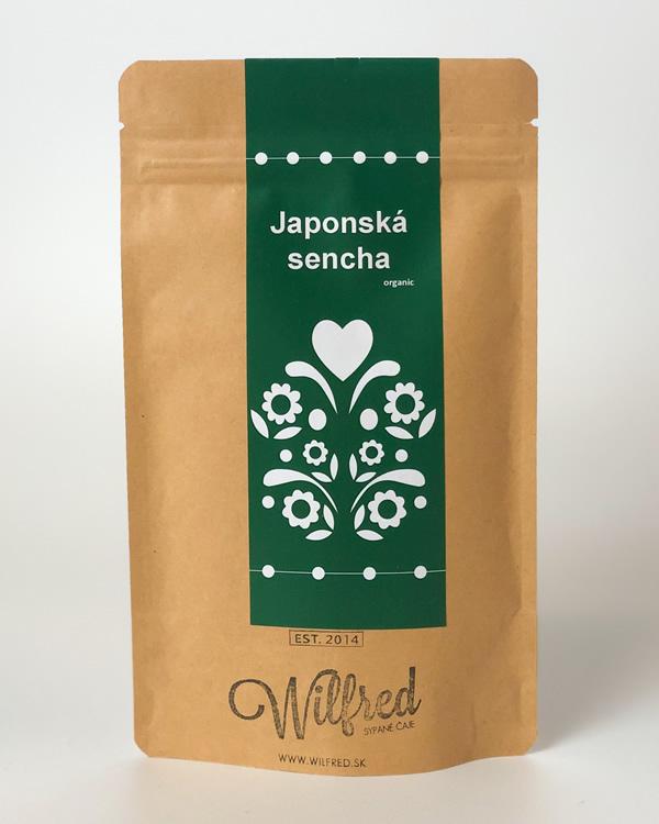 Japonská sencha čaj Wilfred
