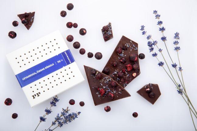 Levanduľa, čierne ríbezle - Forra čokoláda