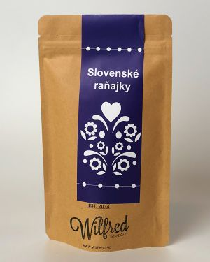 Slovenské raňajky čaj Wilfred
