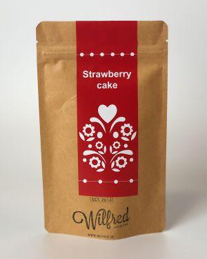 Strawberry cake čaj Wilfred