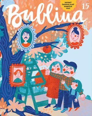 Bublina 15 detský časopis