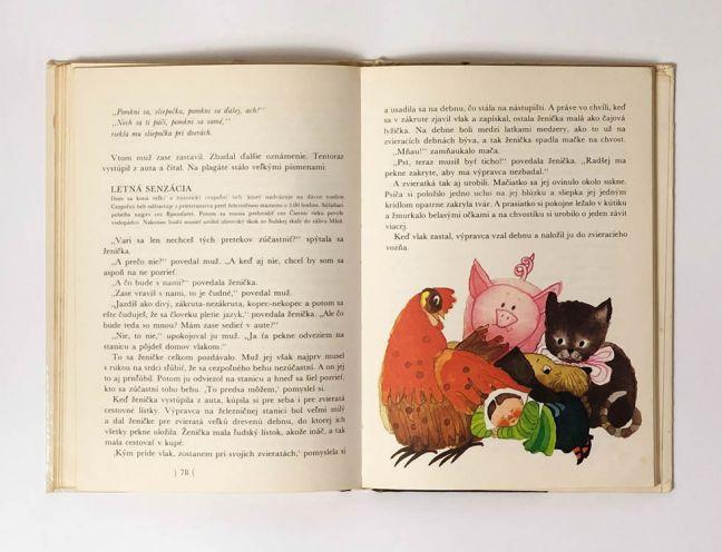 Ženička malá ako čajová lyžička - Alf Prøysen