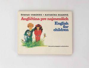 Angličtina pre najmenších - Štefan Urbánek