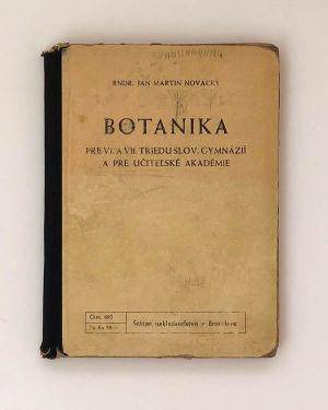 Ján Martin Novacký - Botanika
