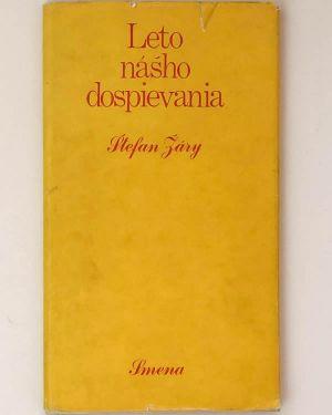 Štefan Žáry - Leto nášho dospievania