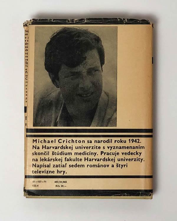 Michael Crichton - Smrť Andromeda