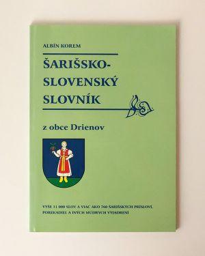 Šarišsko-slovenský slovník Albín Korem
