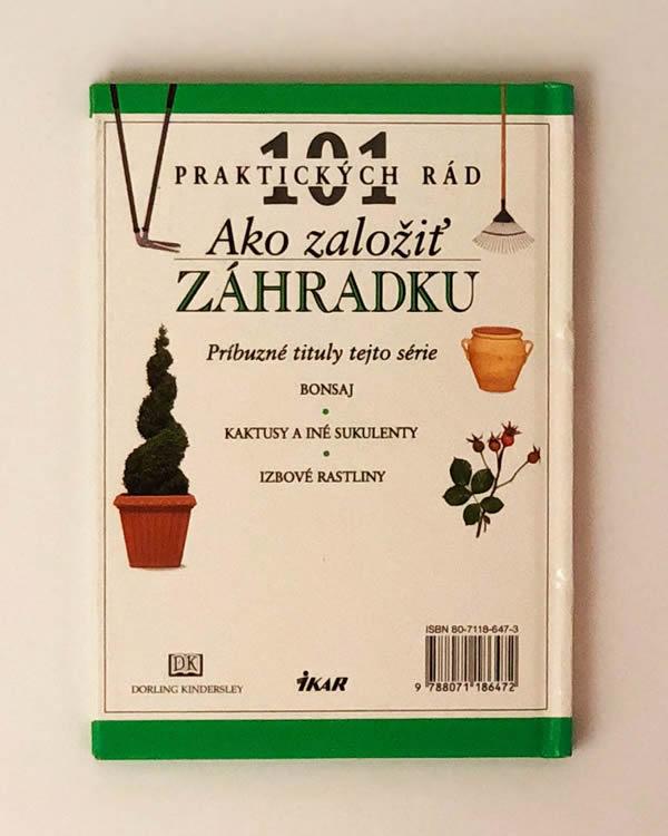 101 praktických rád - Ako založiť záhradku