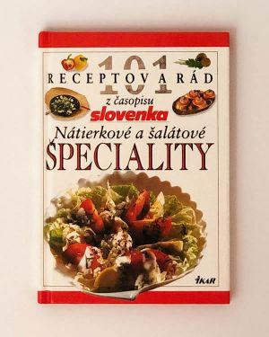 101 receptov a rád z časopisu Slovenka - Nátierkové a šalátové špeciality
