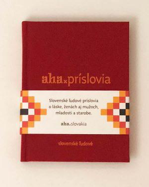 AHA - Príslovia - Tomáš Kompaník, Kristína Bobeková