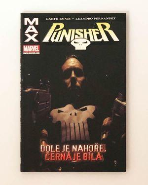 Punisher: Dole je nahoře, černá je bílá - Garth Ennis, Leandro Fernandez