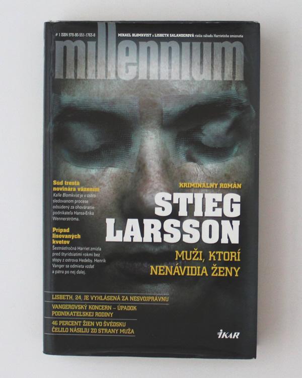 Muži, ktorí nenávidia ženy Stieg Larsson