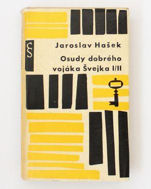 Osudy dobrého vojáka Švejka 1/2 a 3/4 - dvojkniha Jaroslav Hašek