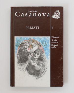 Pamäti (kolekcia 1-3) Giacomo Casanova