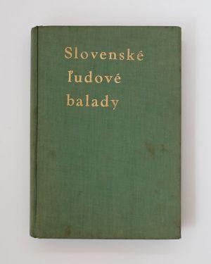 Slovenské ľudové balady Jiří Horák