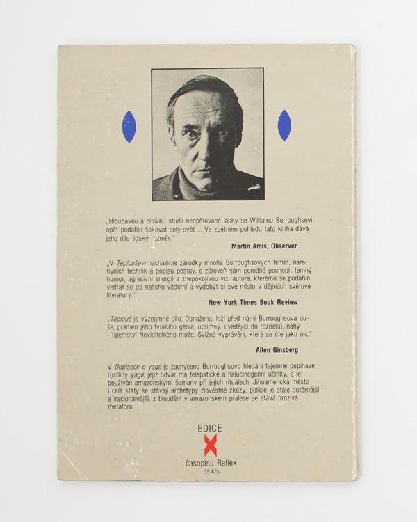 Teplouš / Dopisy o Yage William S. Burroughs