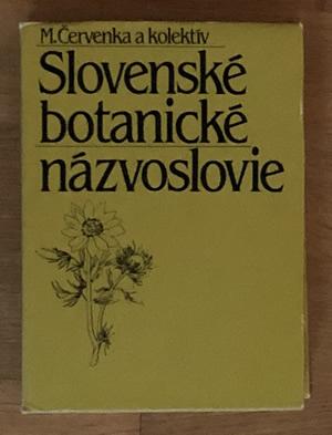 Slovenské botanické názvoslovie - Martin Červenka