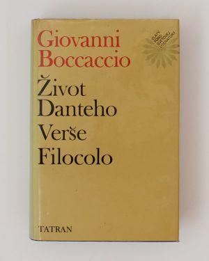 Život Danteho, Verše, Filocolo Giovanni Boccaccio