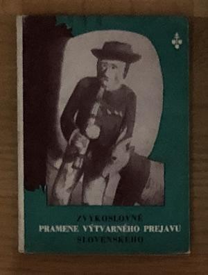 Zvykoslovné pramene výtvarného prejavu slovenského - Rudolf Bednárik